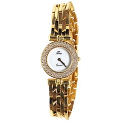 Prestige Watch Yellow Gold Diamonds