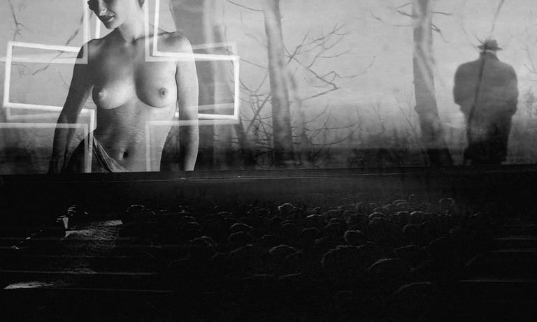 Preston Buchtel Black and White Photograph - Making of a Star