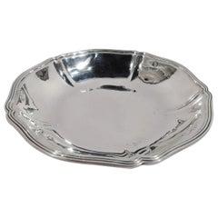 Pretty American Craftsman Sterling Silver Bowl by Arthur Stone