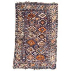 Pretty Antique Caucasian Shirwan Rug