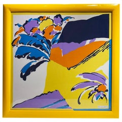Pretty Colors Michelangelo Decorative Framed Scarf