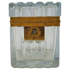 Pretty Crystal Box of Baccarat, Napoleon III