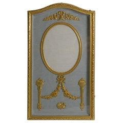 Pretty French Gilded Bronze Photograph / Picture Frame, circa 1900