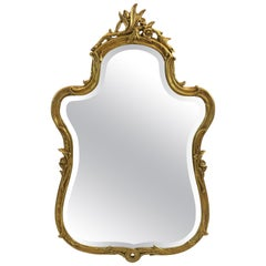 Pretty French Style Curvy Mirror
