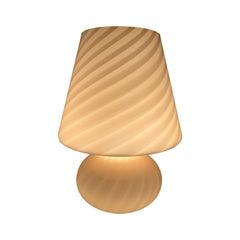 Pretty Murano Vetri Mushroom Lamp