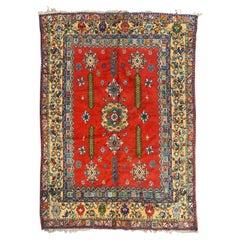 Pretty Vintage Moroccan Rabat Rug