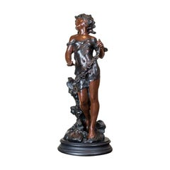 Prewar Figurine of a Girl from the 1920s