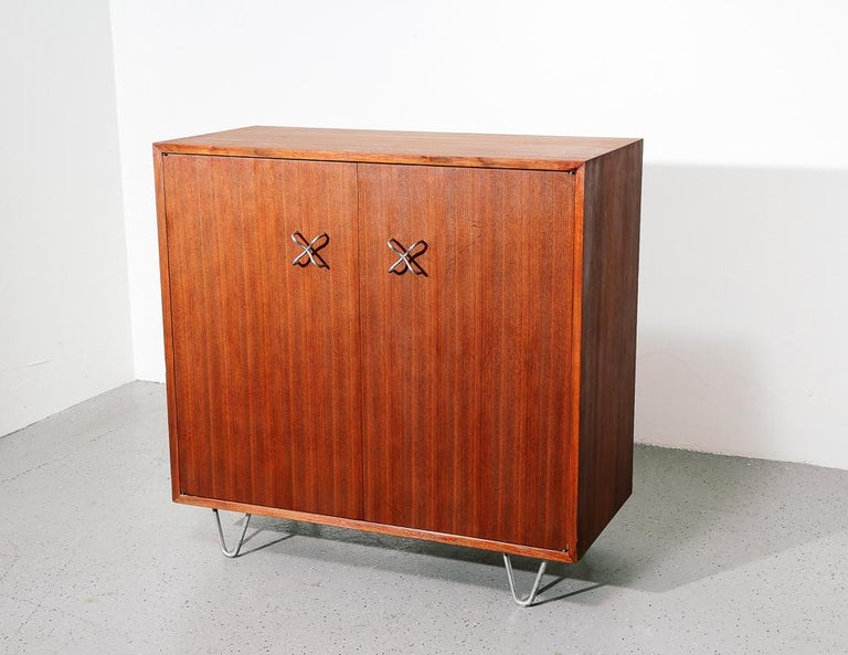 Mid-Century Modern Primavera Cabinet by George Nelson For Sale