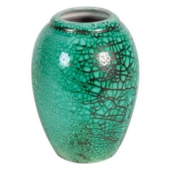 Primavera, Fine Ovoid Art Deco Vase, France, Circa 1920