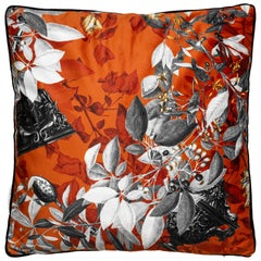 Primavera Romana, Contemporary Velvet Printed Pillow by Vito Nesta