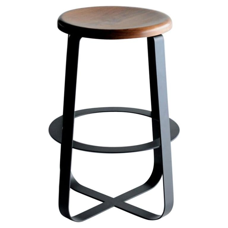 Primi Counter Stool, Wood Top