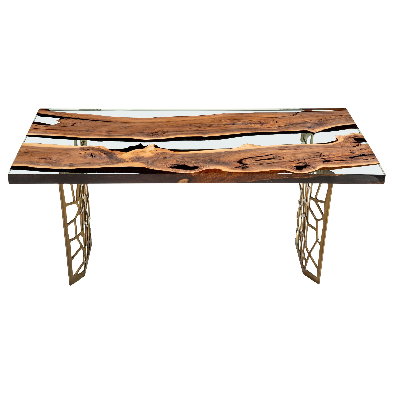 Primitive 180 Epoxy Resin Dining Table