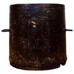 Primitive 19th Century Bushel Barrel, Measure Vessel