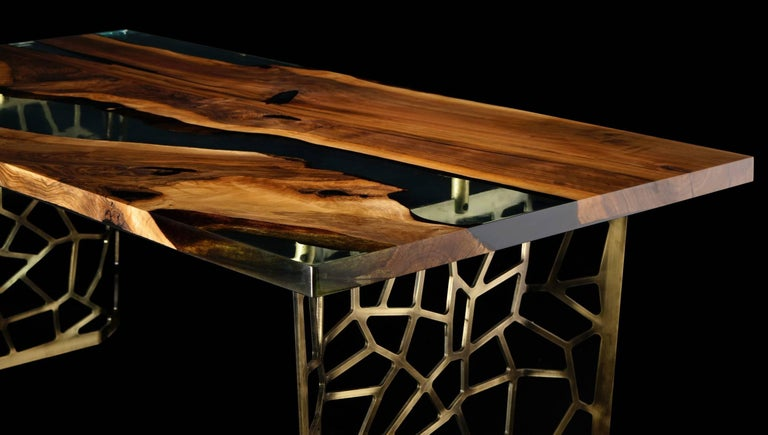 purchase cheap 2a083 d8aae Primitive 200 Epoxy Resin Dining Table