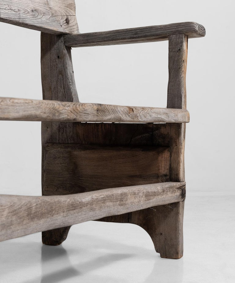 19th Century Primitive Bench For Sale