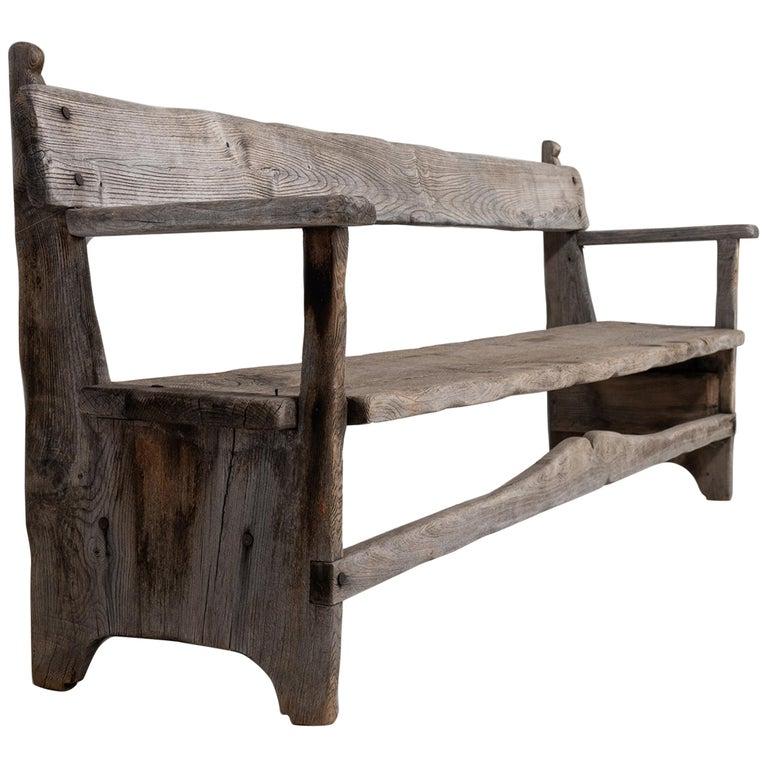 Primitive Bench For Sale