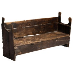 Primitive Catalan Bench