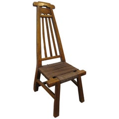 Primitive Chair 19th Century