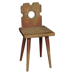 Primitive Chair from Sweden, circa 1860