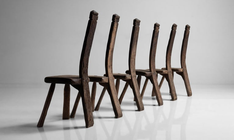 French Primitive Chairs For Sale