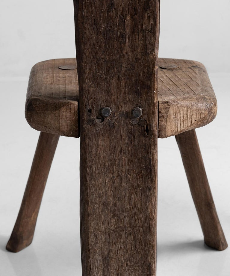 20th Century Primitive Chairs For Sale