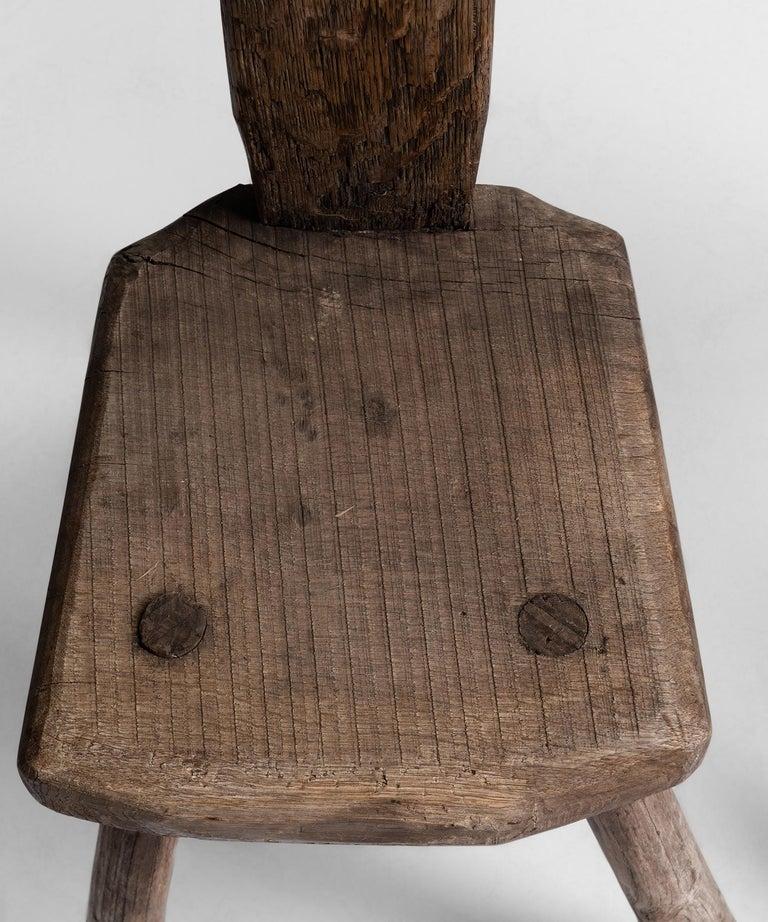 Oak Primitive Chairs For Sale