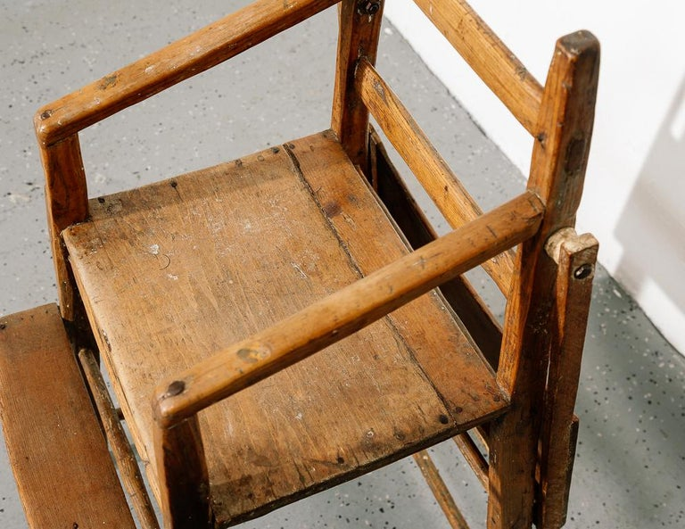 Primitive Child's High Chair For Sale 6