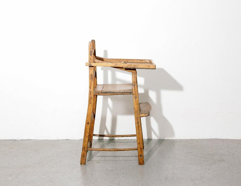 Primitive Child's High Chair For Sale 1