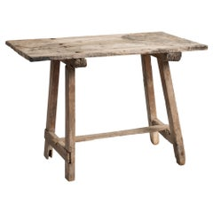 Primitive Country Table, England, circa 1890