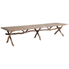 Primitive Dining Table, France, circa 1900