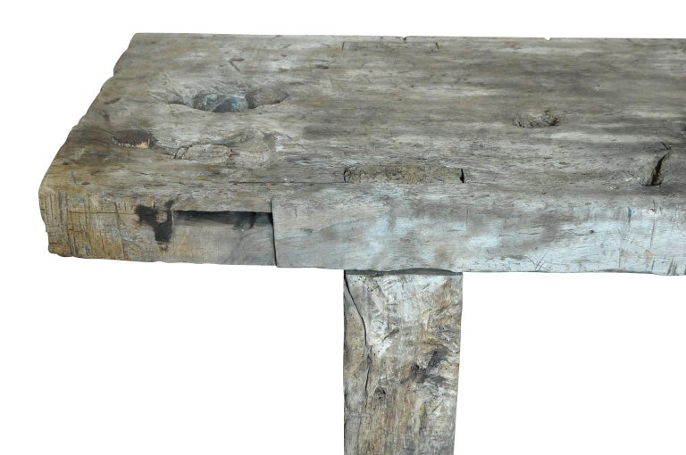 Primitive Early 19th Century Etabli - Work Bench For Sale 1