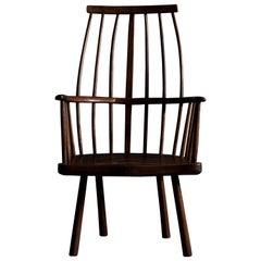 Primitive English Windsor Armchair