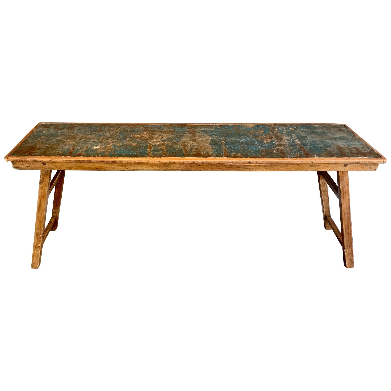 Vintage Farmhouse Collapsible Console Table