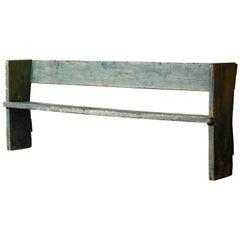 Primitive Freemason's Bench