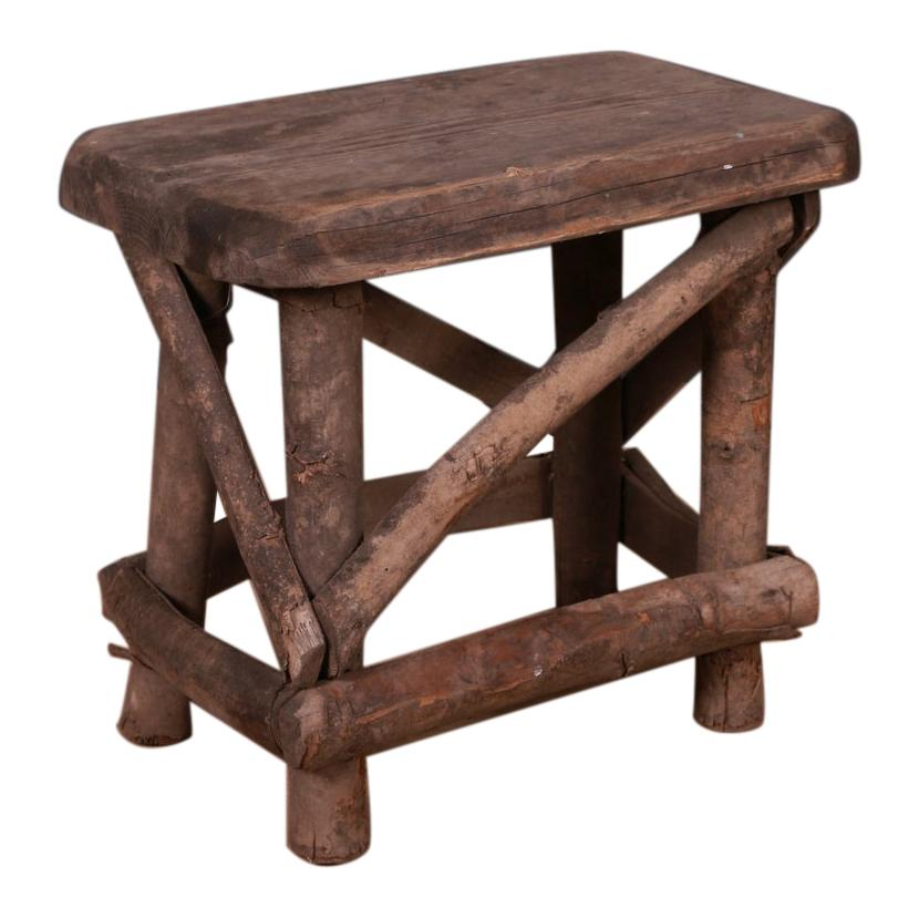 Primitive French Stool