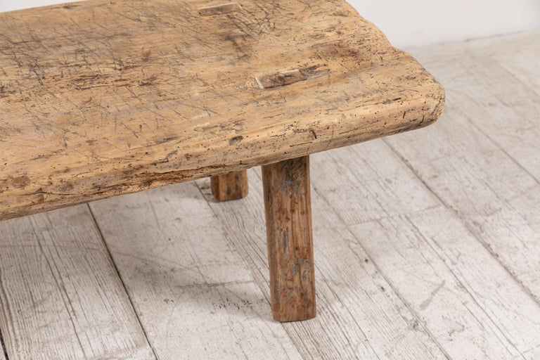 Primitive French Wooden Table 6
