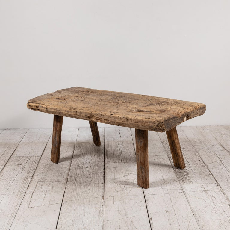 Primitive French Wooden Table 9