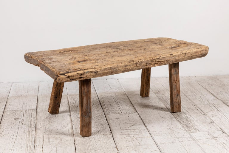 19th Century Primitive French Wooden Table