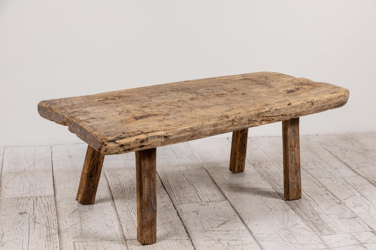 Primitive French Wooden Table 2