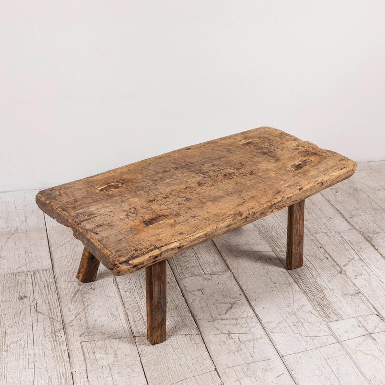 Primitive French Wooden Table 3