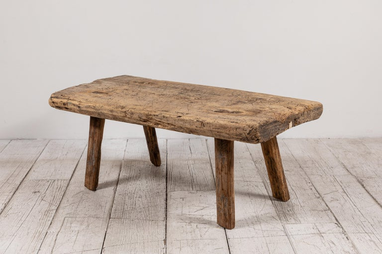 Primitive French Wooden Table 4