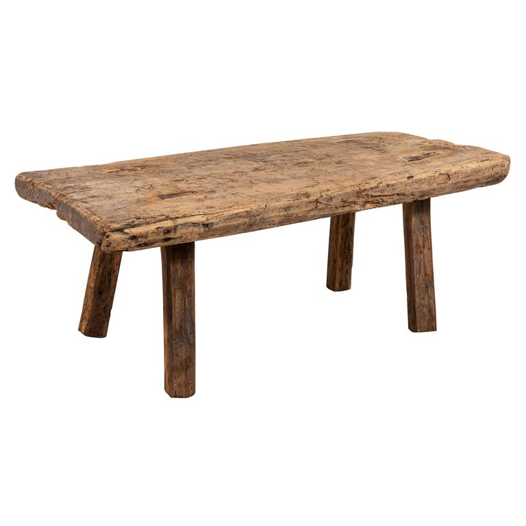 Primitive French Wooden Table