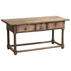 Primitive Hall Table, Spain, 18th Century