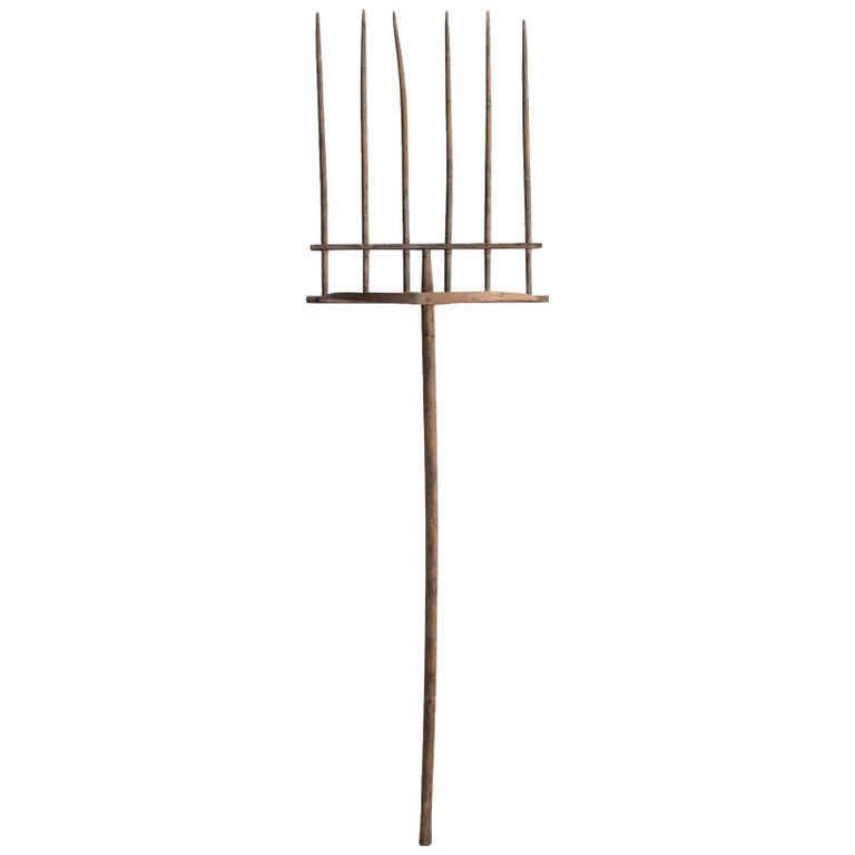 Primitive Hayfork For Sale