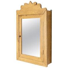 Primitive Mirrored Cabinet