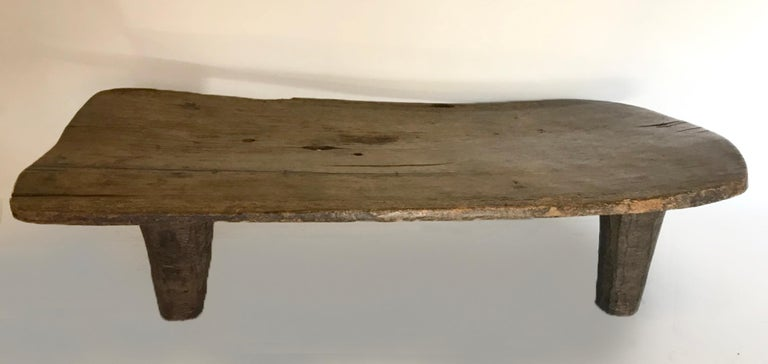 Primitive Nupe Bed Bench Or Coffee Table