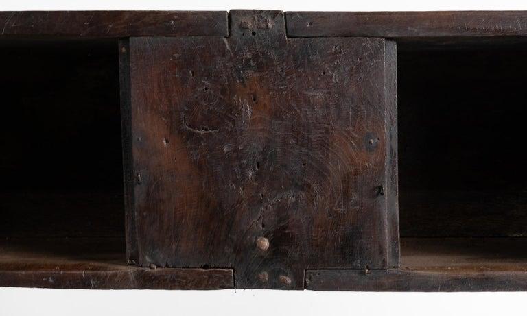 Primitive Oak Bench, France, 19th Century For Sale 1