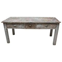 Primitive Painters Table