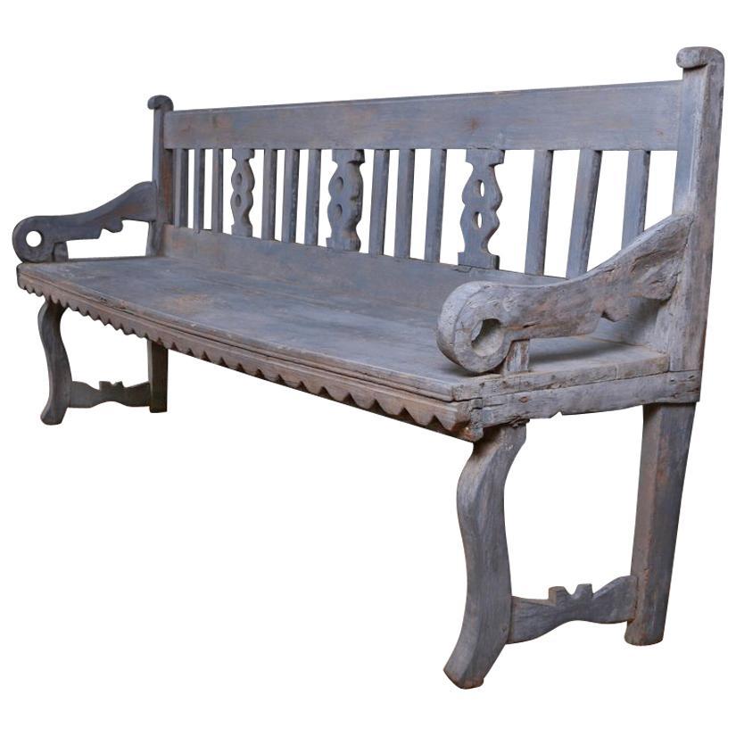 Primitive Scandinavian Bench