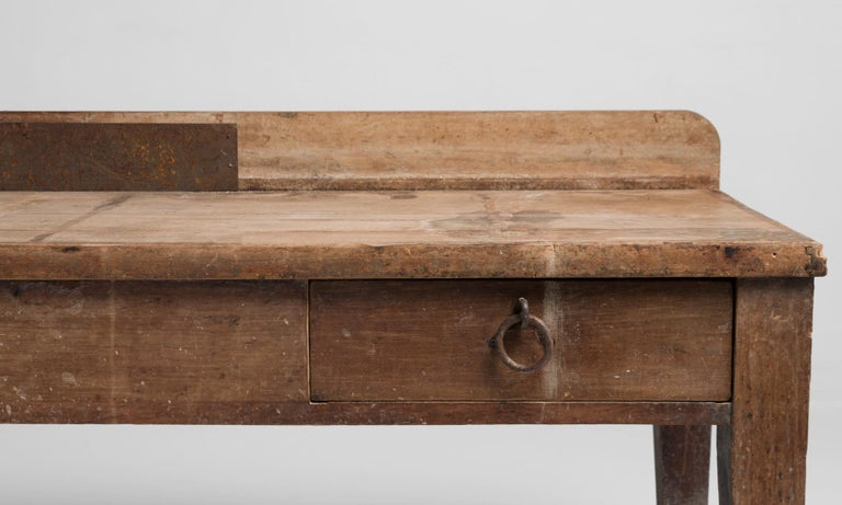 French Primitive Side Board, France, 19th Century For Sale